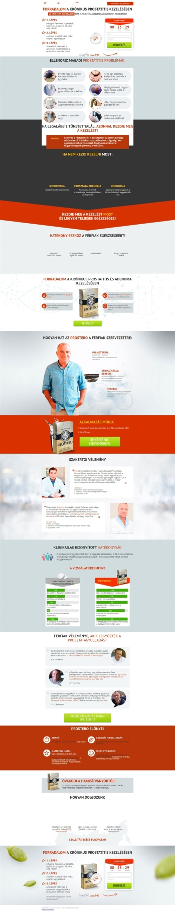 Prostatitis és rák